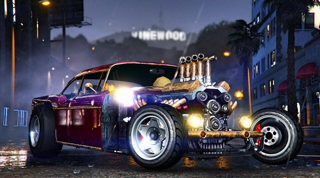 GTA 5 арт Nitty Gritty Rat Rod Custom by Makimaki_3333