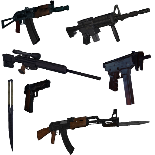 Weapons pack by gf 3ton