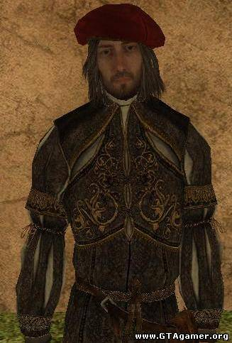 Leonardo Da Vinci из Assassin's Creed Brotherhood