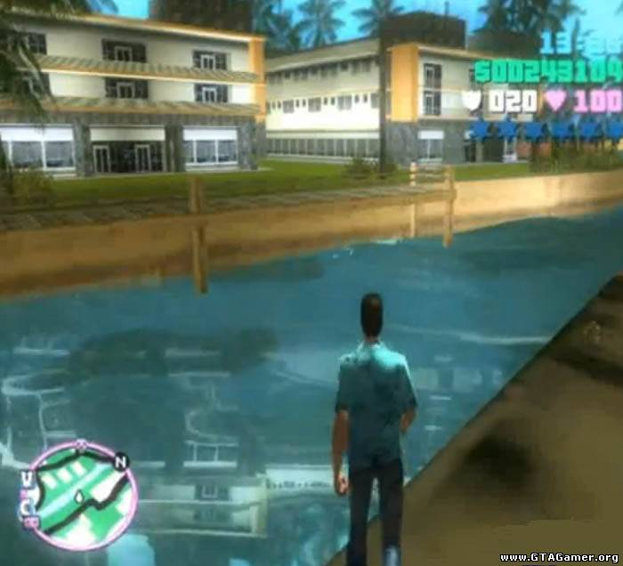 Real water Vice City (вода с отражением)