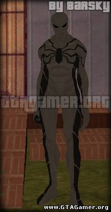 feature fondination skin from spider man