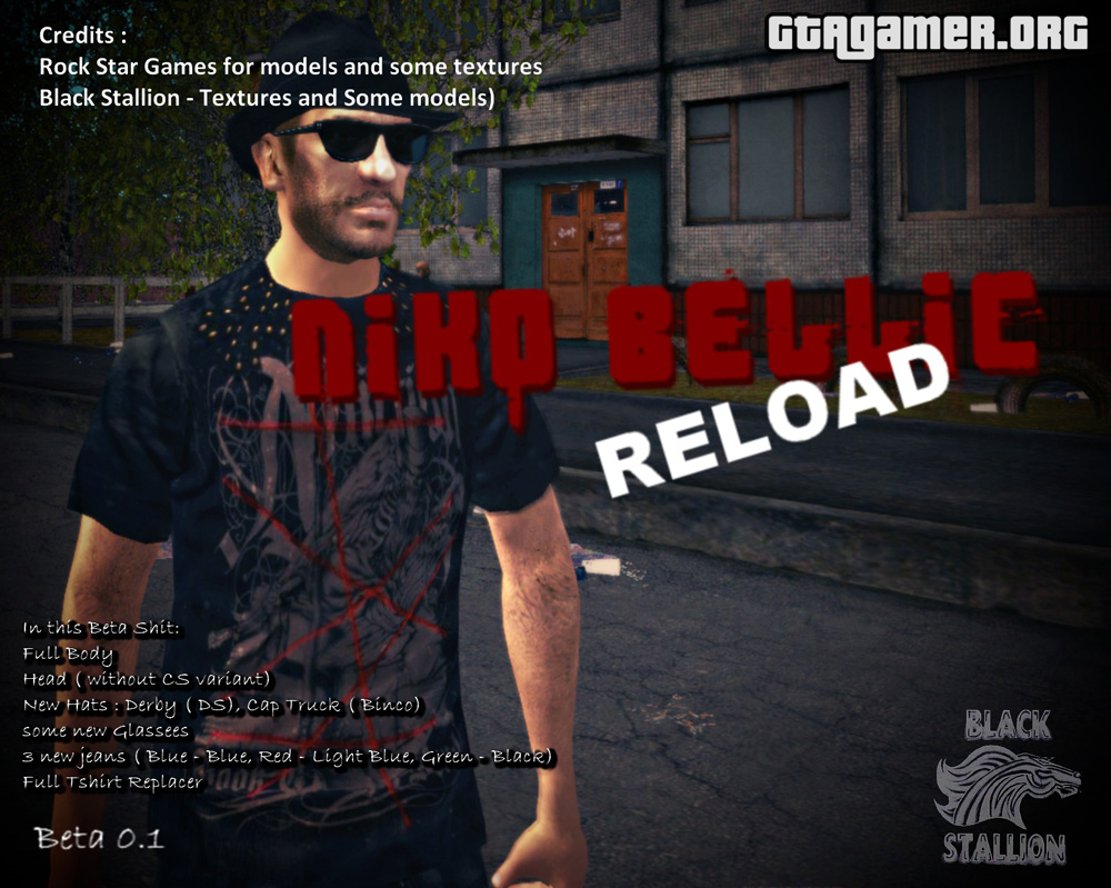 Niko Bellic Reload Beta 0.1