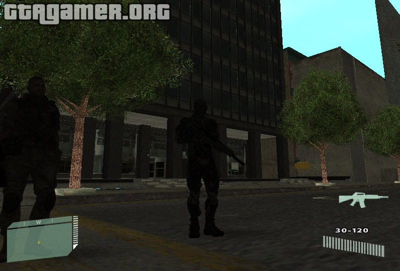 Crysis 2 Mod 1.0 in GTA San Andreas