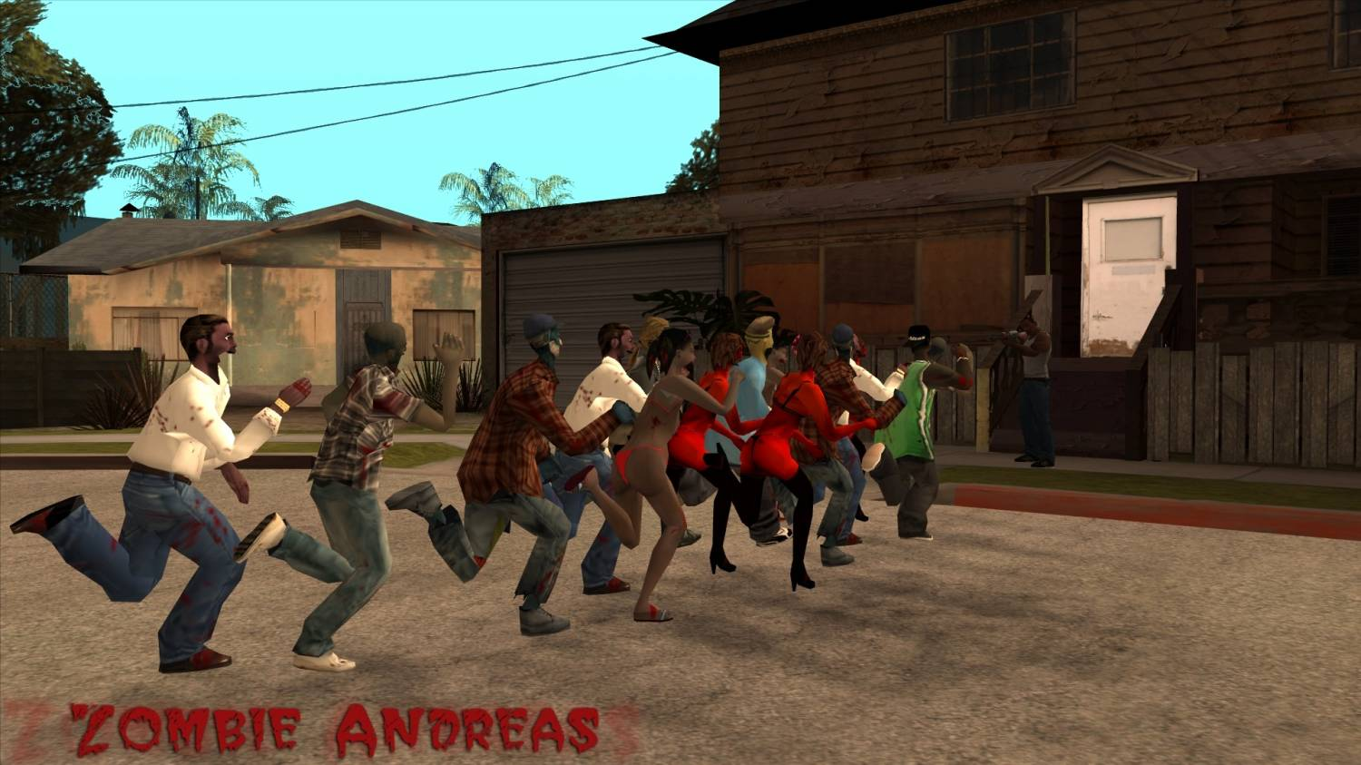 Zombie Andreas Johnsons Story DLC