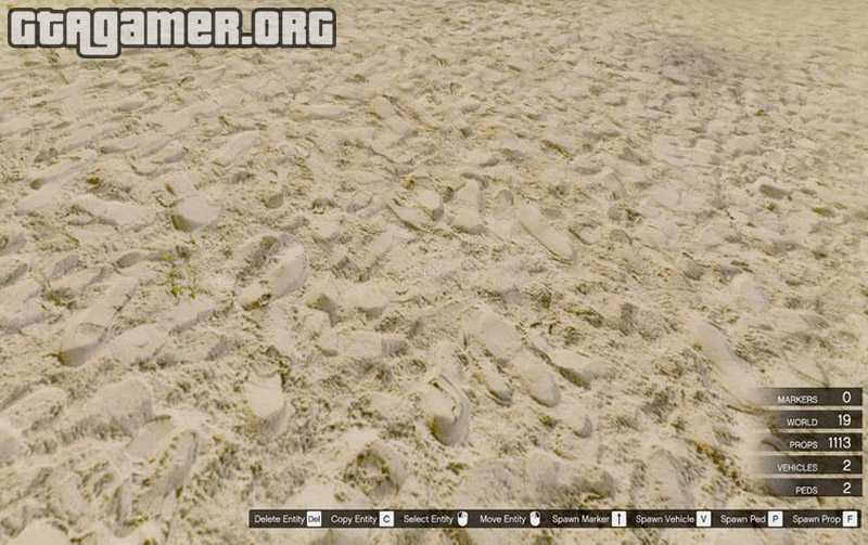 Realistic Sand for Vespucci Beach