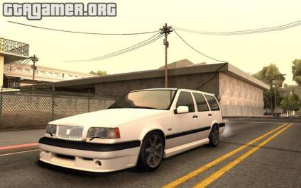 1997 Volvo 850R Tunnable для GTA San Andreas