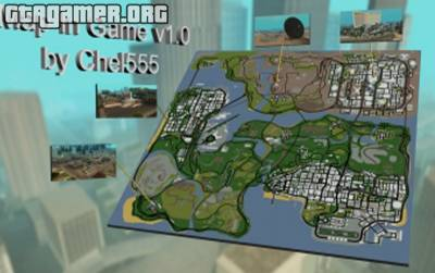 CLEO скрипт Map In Game v1.0 для GTA San Andreas