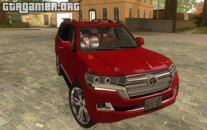 2016 Toyota Land Cruiser 200 V2 для GTA San Andreas