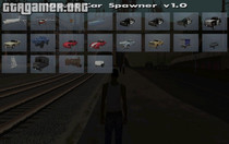 Visual Car Spawner v1.0 (CLEO) для GTA San Andreas
