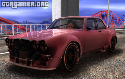 Jaguar Broadspeed XJC для GTA San Andreas
