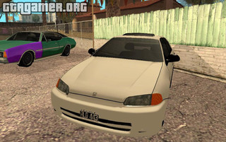 Honda Civic Sedan EX 1993 для GTA San Andreas