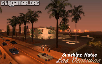 Sunshine Autos in Las Venturas для GTA San Andreas