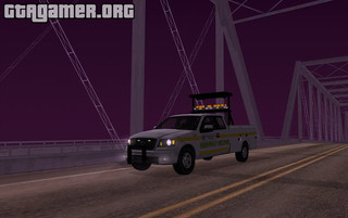 2005 Ford F-150 San Andreas DOT Highway Helper для GTA San Andreas