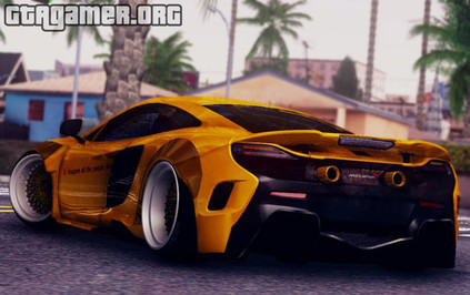 Mclaren 675LT Liberty Walk для GTA San Andreas