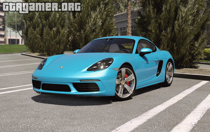 Porsche 718 Cayman S [Add-On / Replace] для GTA 5