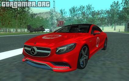 Mercedes-Benz S63 AMG Coupe для GTA San Andreas
