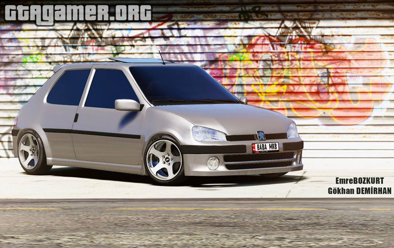 Peugeot 106 [Add-On / Replace]