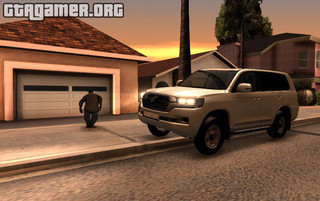 Land Cruiser Qatar 2016 для GTA San Andreas