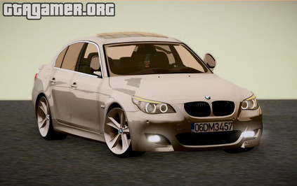 BMW E60 520D M technique для GTA San Andreas
