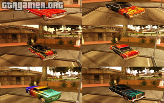 мод Rockstar HD Paintjobs для GTA San Andreas
