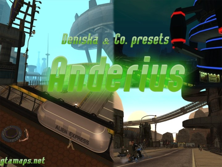 Gta alien city anderius TORRENT