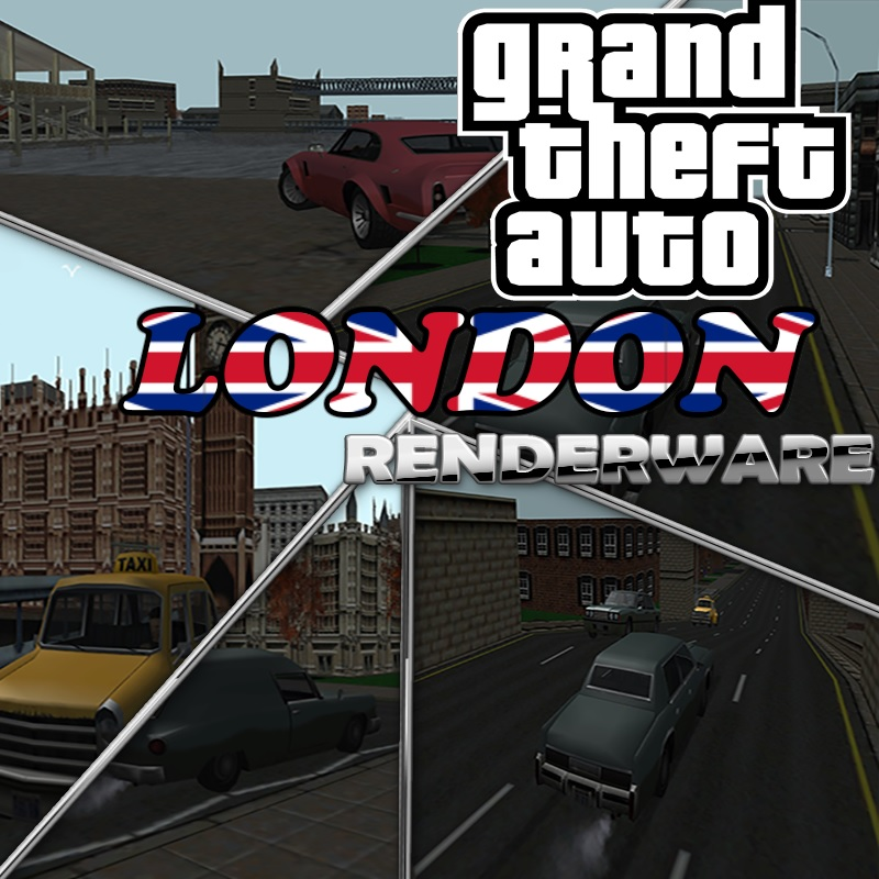 GTA 1 LONDON RENDERWARE
