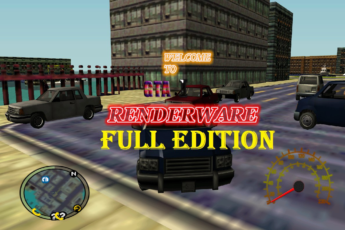 GTA I RENDERWARE FULL EDITION