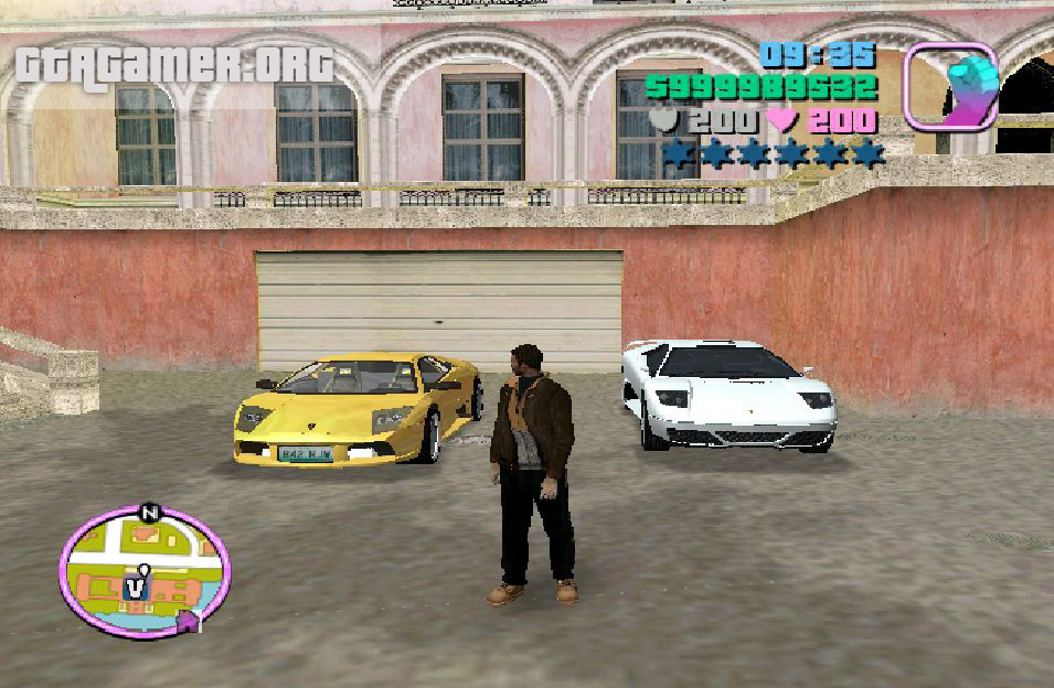 "GTA VC ""50 Cent Car Pack"""