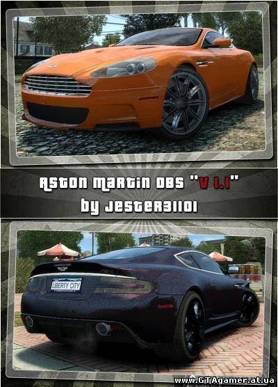 "GTA 4 ""Aston Martin DB-S"""